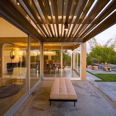 Modern Patio by David Hertz & Studio of Environmental Architecture