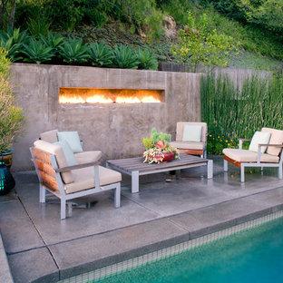 Built In Outdoor Fireplace Houzz