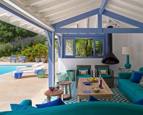 Foto e idee per patii e portici patio o portico al mare for Portico anteriore costiero