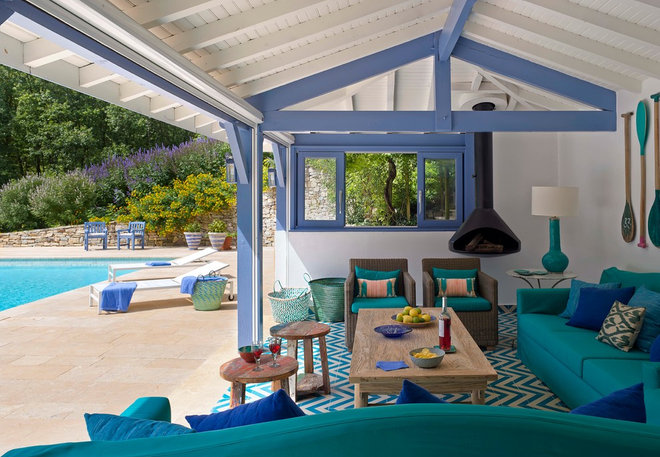 Beach Style Patio by Melian Randolph