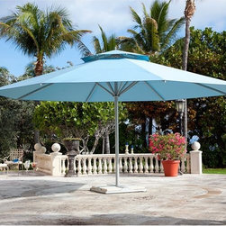 Big Ben Market Style Patio Umbrella - The Big Ben has a market style canopy and is available in sizes up to 19'.