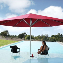 Big Ben Round Market Style Umbrella - The Big Ben round patio umbrella has a market style canopy and is available in sizes up to 19'.