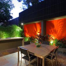 Contemporary Patio by Secret Gardens