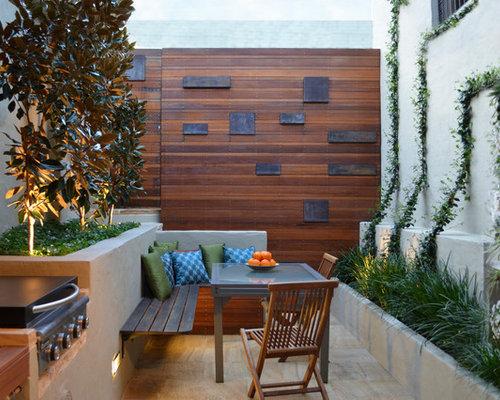 Contemporary Courtyard Patio Idea In Sydney