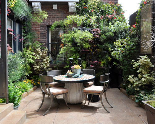 Courtyard gardens houzz for Courtyard garden ideas