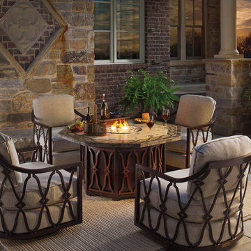 Black Sands Firepit and Seating Area
