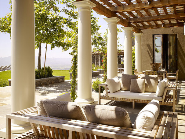 Traditional Patio by Blasen Landscape Architecture