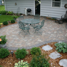 Traditional Patio by JLM Design Build Landscapes