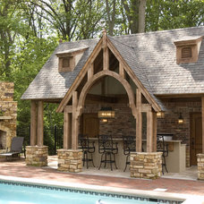 Traditional Patio by Case Design & Remodeling Indy