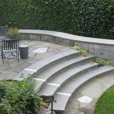 Traditional Patio by Kate Martin Design