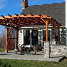 Transitional Patio by Sirois Home Solutions