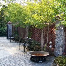 Traditional Patio by R. Hartley Scott ASLA   |   Long Hollow Gardens