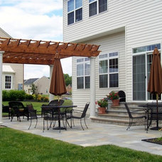 Traditional Patio by Vidic Landscape Design & Construction, LLC