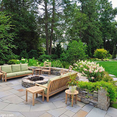 Traditional Patio by Sallie Hill Design