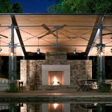 Contemporary Patio by Bernbaum-Magadini Architects