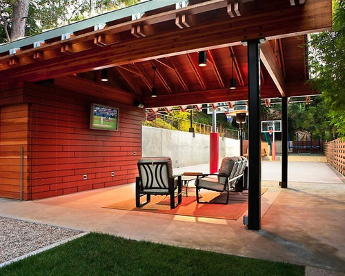 1,571 Sport Court Backyard Basketball Court Patio Design Ideas