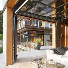 contemporary patio by Scott Allen Architecture