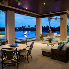 Tropical Patio by Slifer Designs