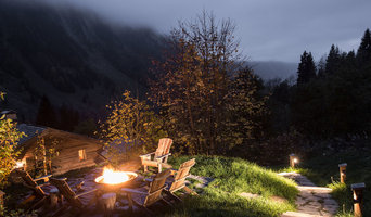 Bol Corten firebowl in the French Alps