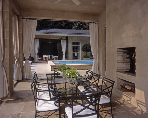 inspiration for a patio remodel in atlanta with a fire pit