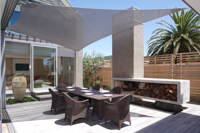 Contemporary Patio by jessop  architects