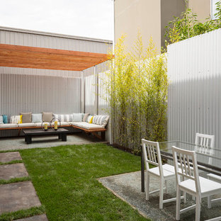 Inspiration for an industrial backyard patio remodel in San Francisco
