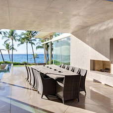 Contemporary Patio by Gregory Pierce Photography