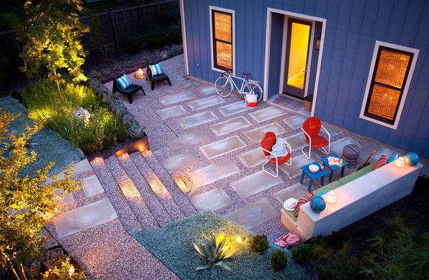 Modern Patio by B. Jane Gardens