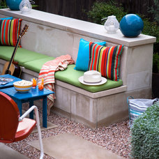 Contemporary Patio by B. Jane Gardens