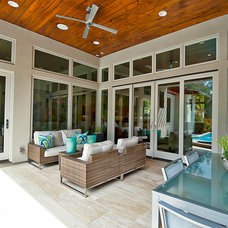 Contemporary Patio by Bryant Hill Media