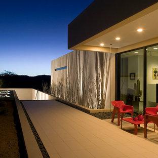 Patio - modern patio idea in Phoenix with no cover