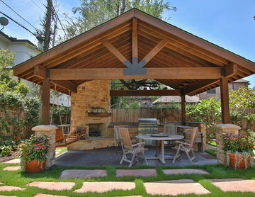 Braeswood Place Outdoor Covered Patio, Sunroom and Balcony