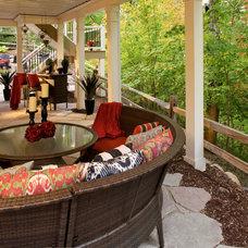 Traditional Patio by Wiese Photo