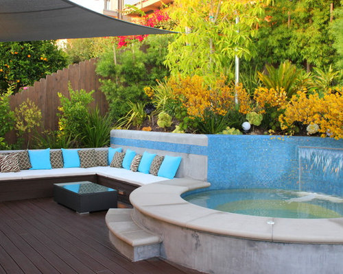 outdoor jacuzzi houzz. Black Bedroom Furniture Sets. Home Design Ideas