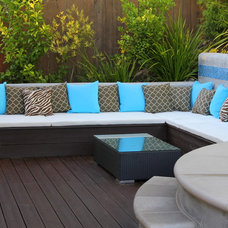 Contemporary Patio by Creative Atmospheres, Inc.