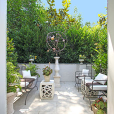 Contemporary Patio by Candace Barnes