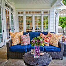 Traditional Patio by P2 Design