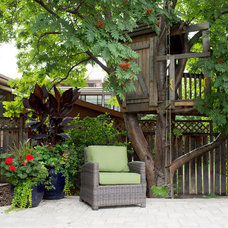 Traditional Landscape by Your Space By Design