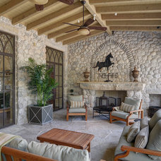 Traditional Patio by J Wilson Fuqua & Assoc. Architects