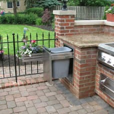 Traditional Patio by Aspen Fireplace & Patio INC