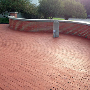 75 Beautiful Red Brick Patio Pictures Ideas Houzz