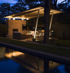 modern pool by Hugh Jefferson Randolph Architects