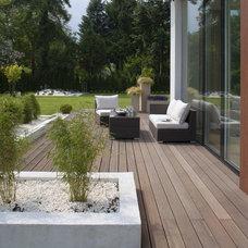 Contemporary Patio by Exit - Interior design
