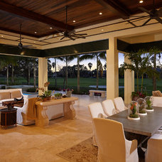 Tropical Patio by London Bay Homes