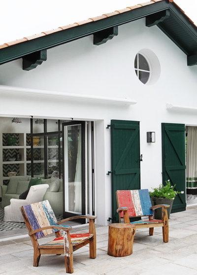 Méditerranéen Terrasse et Patio by Marta de la Rica | Estudio de Interiorismo