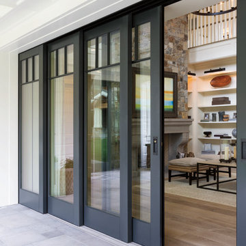 Bring the outdoors in with Pella® Architect Series® multi-slide patio doors