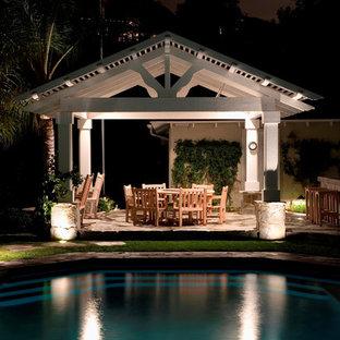 Foto di un patio o portico tradizionale