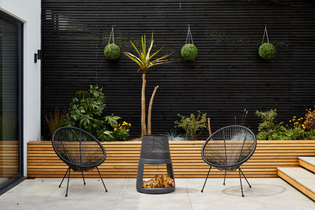 Contemporain Terrasse et Patio by AIB Contractors Ltd