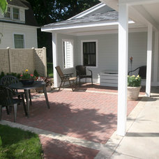 Traditional Patio by Conservation Properties