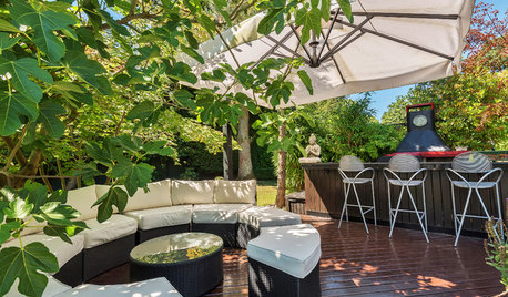 32 Outdoor Seating Areas Surrounded by Greenery